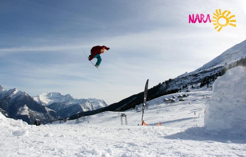 Paradiso partner del Nara: sci e divertimento per tutti
