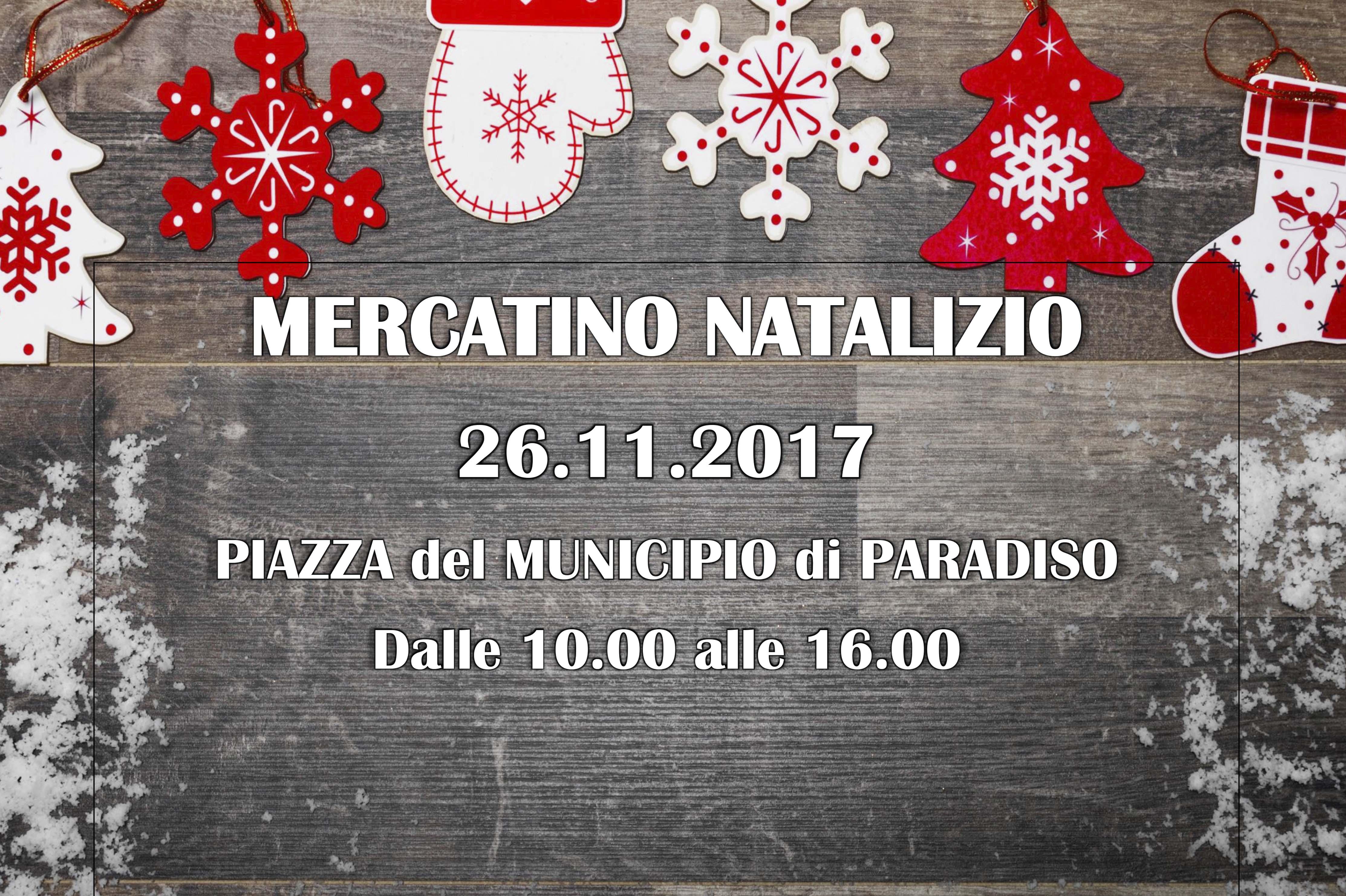 Mercatino Natalizio 2017