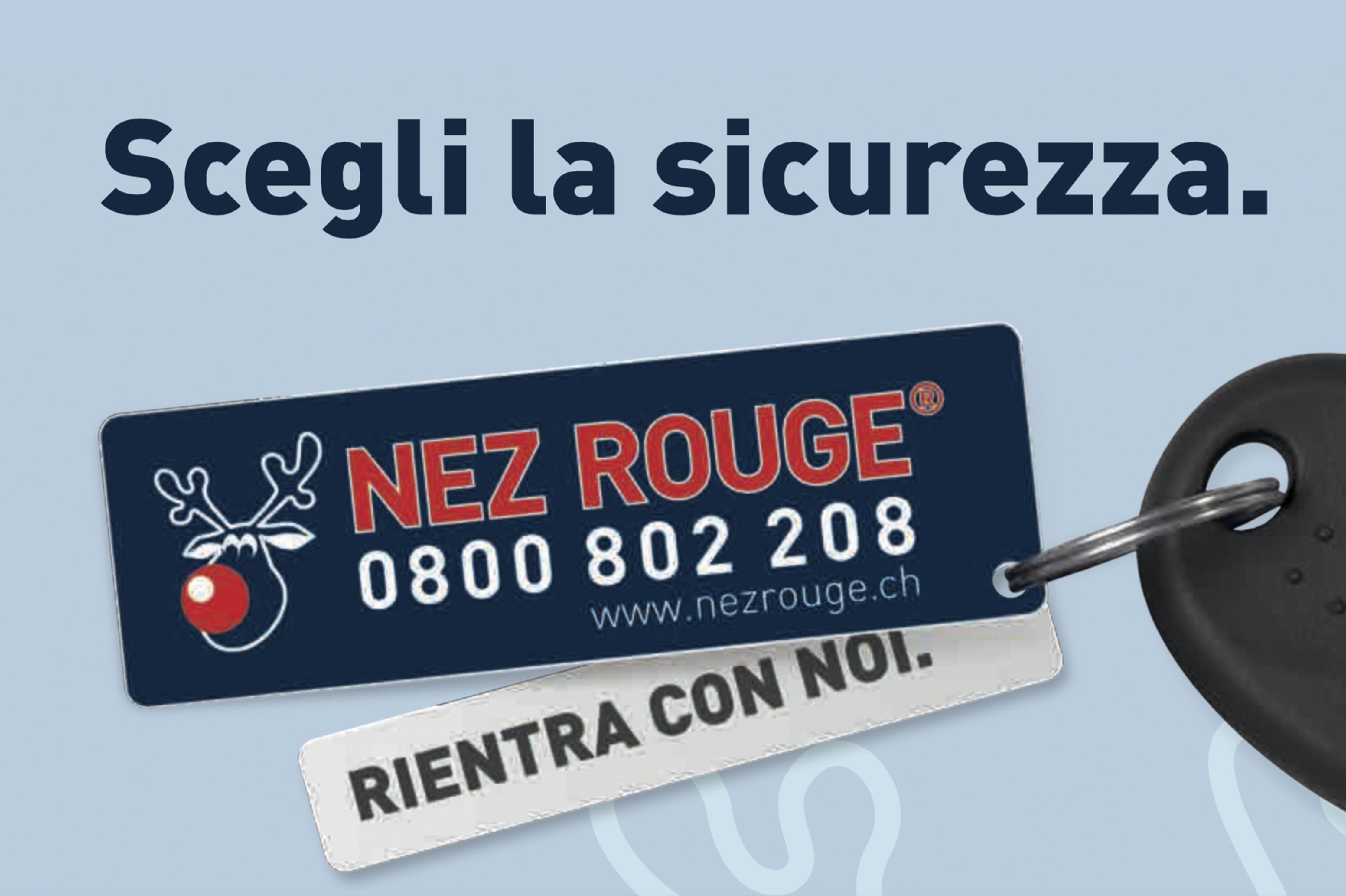 Servizio Nez-Rouge per le festività natalizie