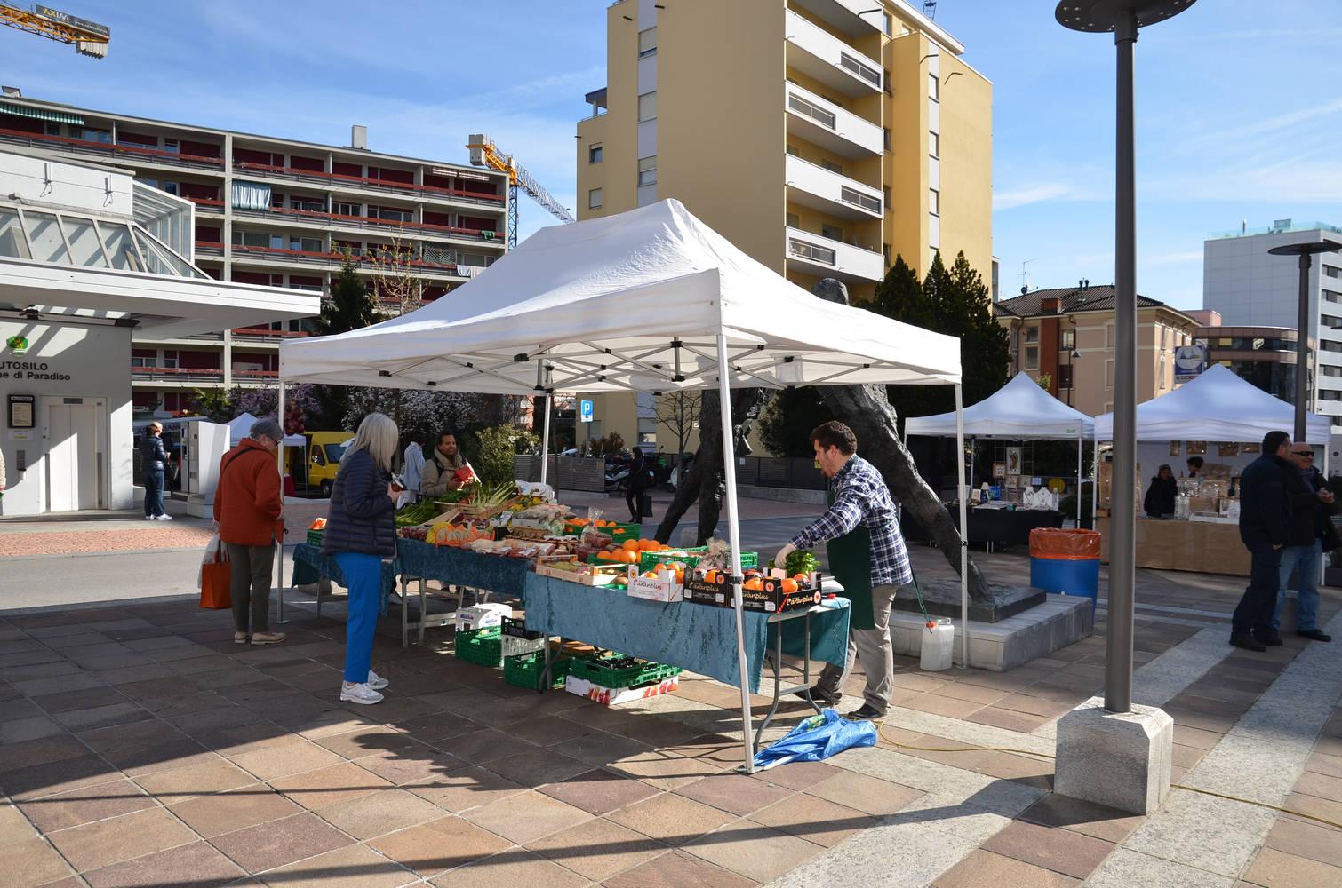 Successo pieno per il Mercato in Piazza