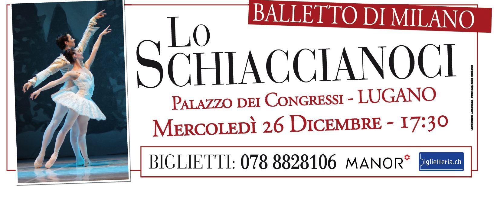 Spettacolare offerta della Paradiso Card peri grandi eventidi Opera & Ballet Swiss