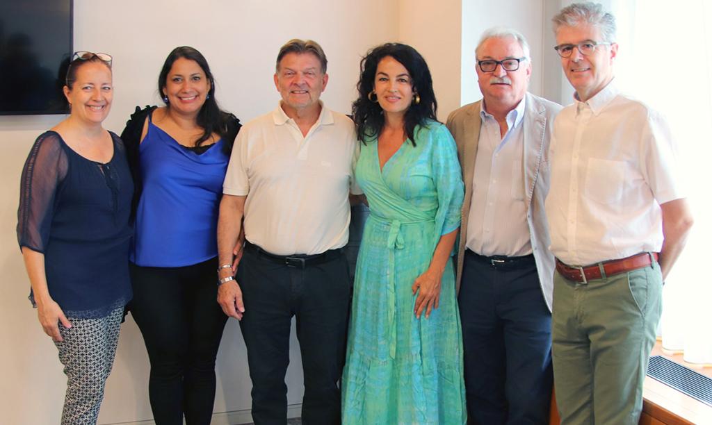L'Ambasciatrice di Colombia a Paradiso